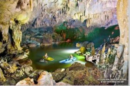 HCM – Động Phong Nha – Động Thiên Đường – kayal – Sông chày – Hang Tối – Suối nước Mooc 4n3đ