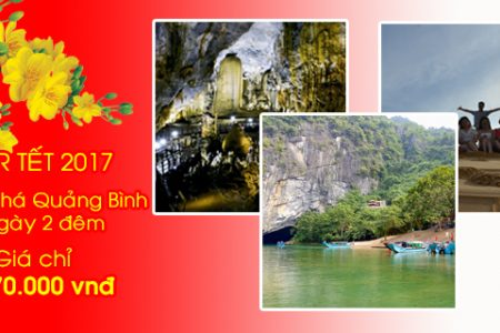 Tour Tết Khám phá Quảng Bình