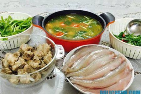 Ẩm thực Quảng Bình: Lẩu cá khoai của tỉnh Quảng Bình lọt Top 100 món ăn, ẩm thực đặc sản tiêu biểu Việt Nam