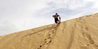 Đến Quảng Bình trượt cát