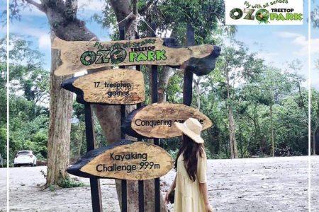 Khám phá công viên OZO Quảng Bình với hệ thống trò chơi trên cây dài nhất Việt Nam.
