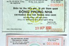 Vé tham quan các điểm tại Quảng Bình 2019