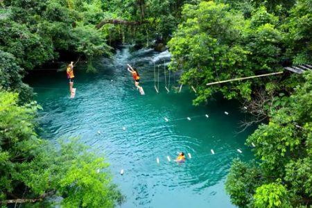 Suối Moọc – Kinh nghiệm du lịch suối Mọoc