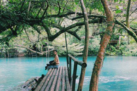 Suối Nước Mọoc đẹp như tiên cảnh ở Quảng Bình