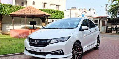 Cho thuê xe 4 chỗ Honda City tại Quảng Bình