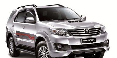 Cho thuê xe 7 chỗ Toyota Fortuner tại Quảng Bình