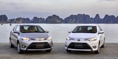Cho thuê xe 4 chỗ Toyota Vios tại Quảng Bình