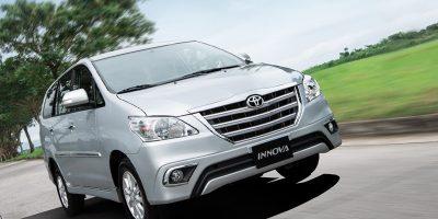 Cho thuê xe 7 chỗ Toyota Innova tại Quảng Bình