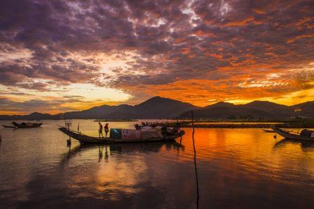 Vẻ đẹp đầm Cầu Hai qua góc nhìn của tay máy Khang Chu Long