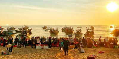 Chợ biển Nhân Trạch